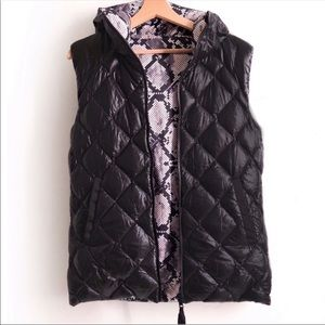Lululemon W down puffer vest (reversible)